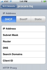 change dns on iphone
